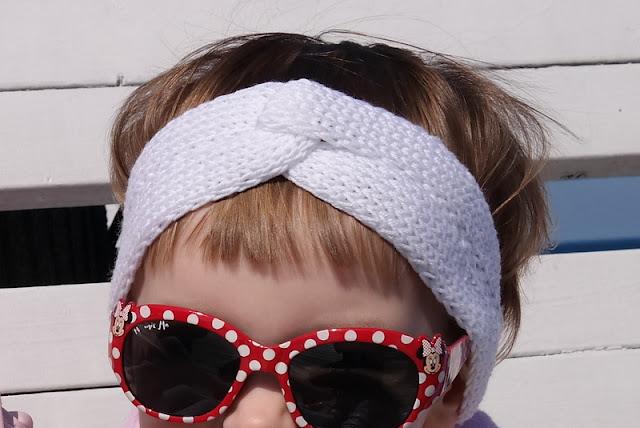 Opaska do włosów dla dziewczynki