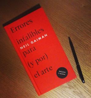 Errores infalibles para (y por) el arte de Neil Gaiman