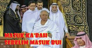 Kisah PM Malaysia Masuk Ka'bah Sebelum Kalah Pemilu dan Masuk Bui