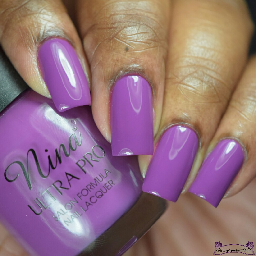 Nina Ultra Pro Plum Of The Earth Swatches & Review - Glamorousnails23