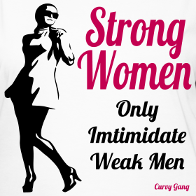 Strong, Curvy, woman, weak men, confidence