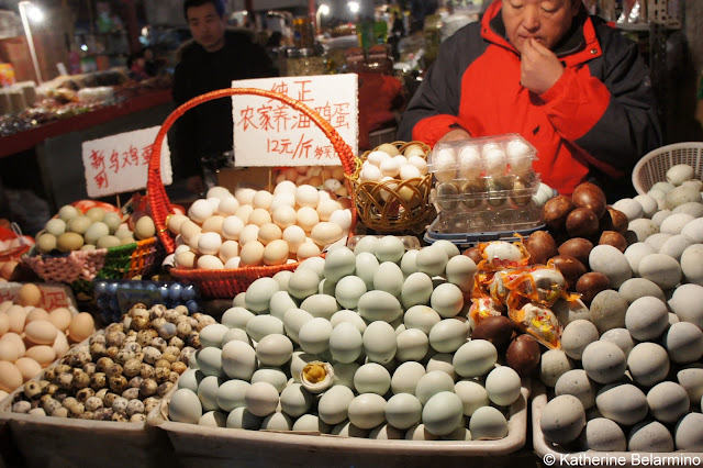 Wet Market Eggs Beijing Food Tour China