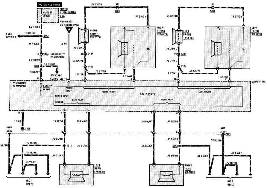 Diagrams Wiring : E46 Speaker Diagram  Best Free Wiring