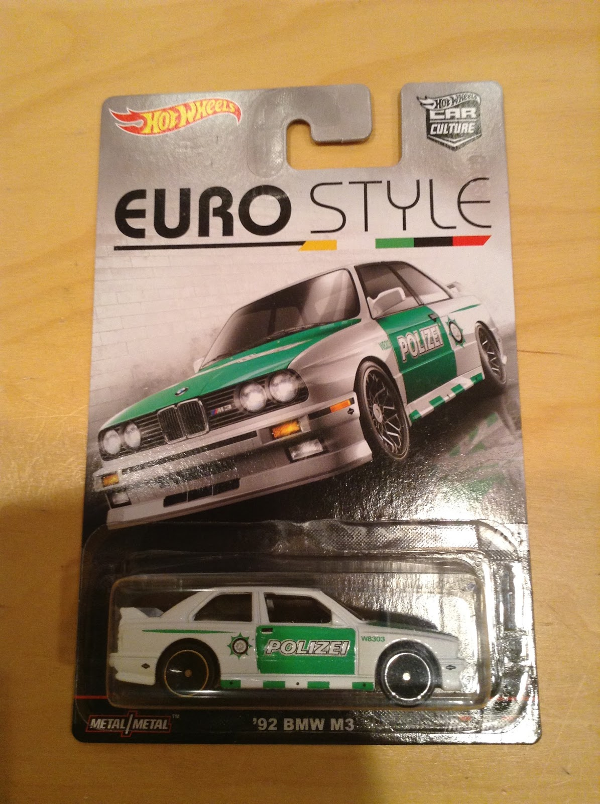 Julian S Hot Wheels Blog 1992 Bmw M3 2016 Car Culture Euro Style