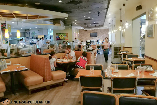 Interior of California Pizza Kitchen in Alabang Town Center
