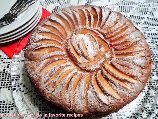 Jewish Apple Cake
