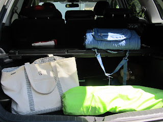 Trunk Full of Sports Gear