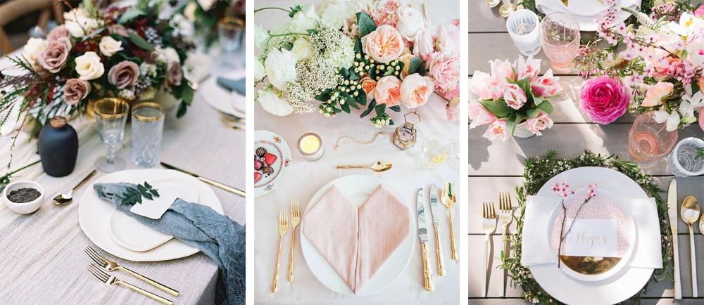 como decorar tu mesa de san valentin estilo elegante y glamuroso con detalles dorados y romanticos para 14 de febrero