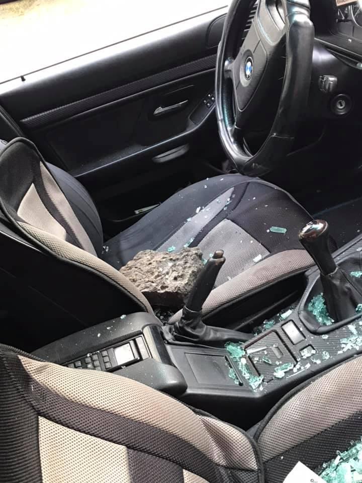 Vecmīlgrāvi mēģināja apzagt auto
