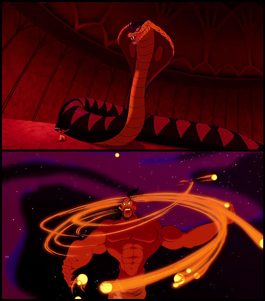 2014 the year of disney project aladdin 1992 - Serpent aladin ...