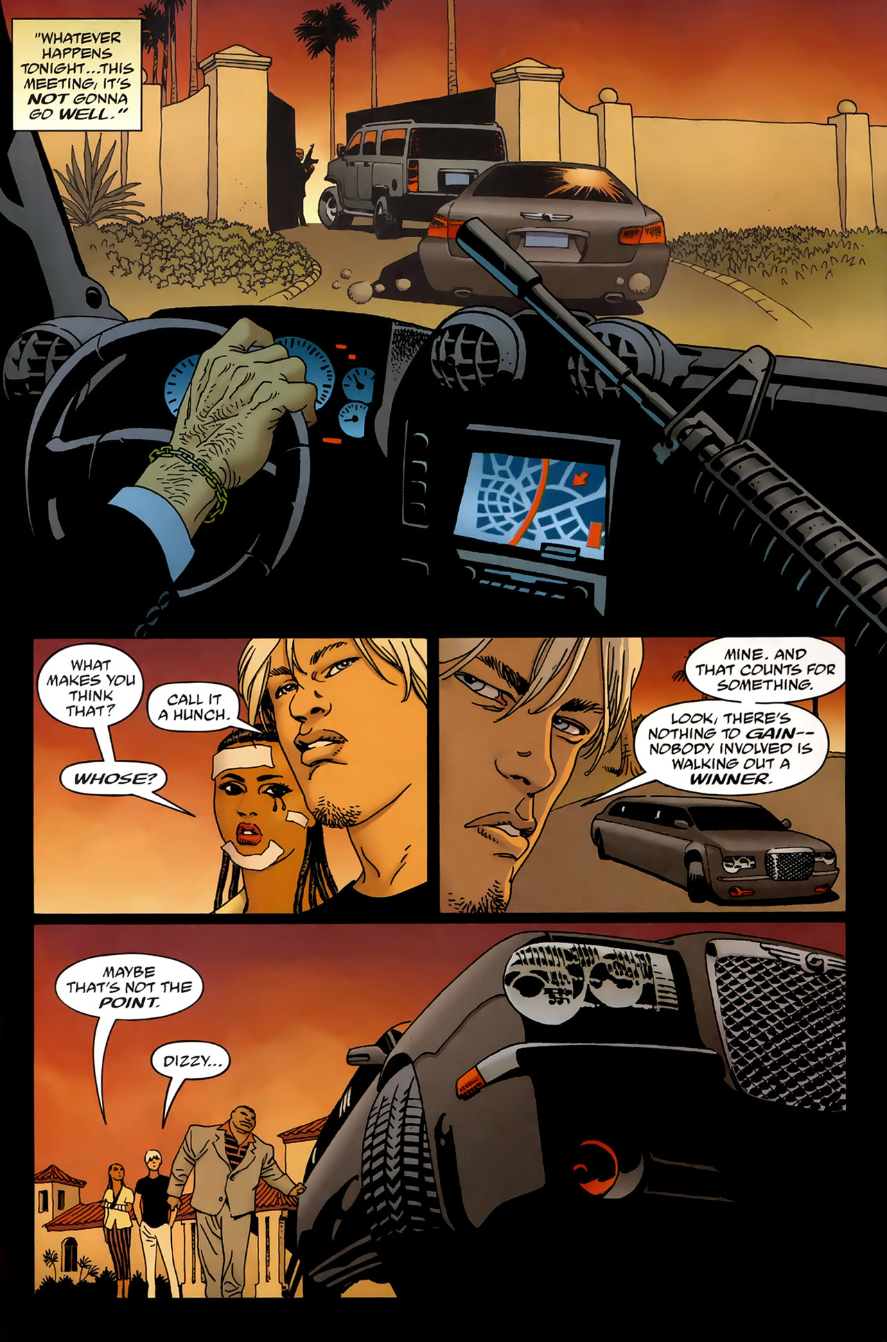 Read online 100 Bullets comic -  Issue #99 - 2