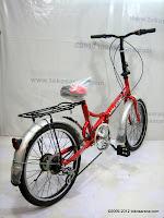 D 20 Inch Viva Valkon 6 Speed Folding Bike