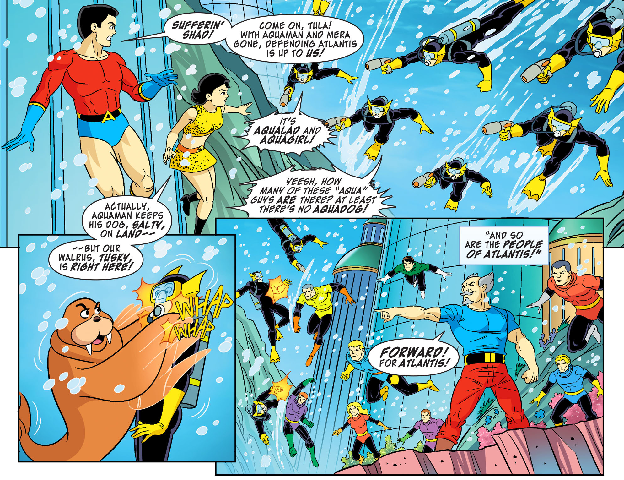 Read online Scooby-Doo! Team-Up comic -  Issue #28 - 12