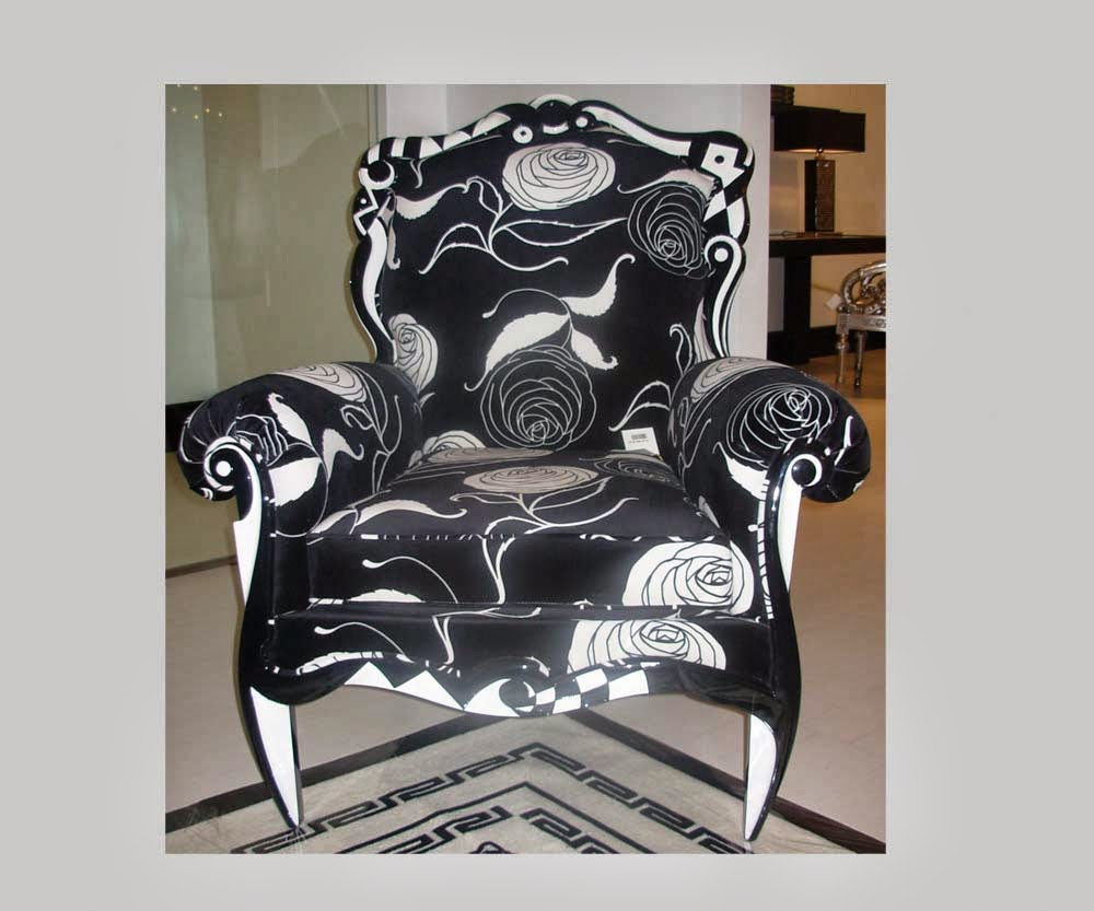 Versace Home, Salome Arm Chair ~ Used Luxury Furniture