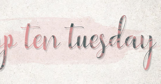 Top Ten Tuesday: Bookish goals