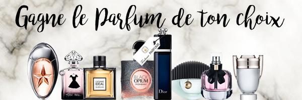 CONCOURS - Gagnez le parfum de votre choix