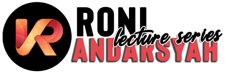 Roni Andarsyah Lecturer Series