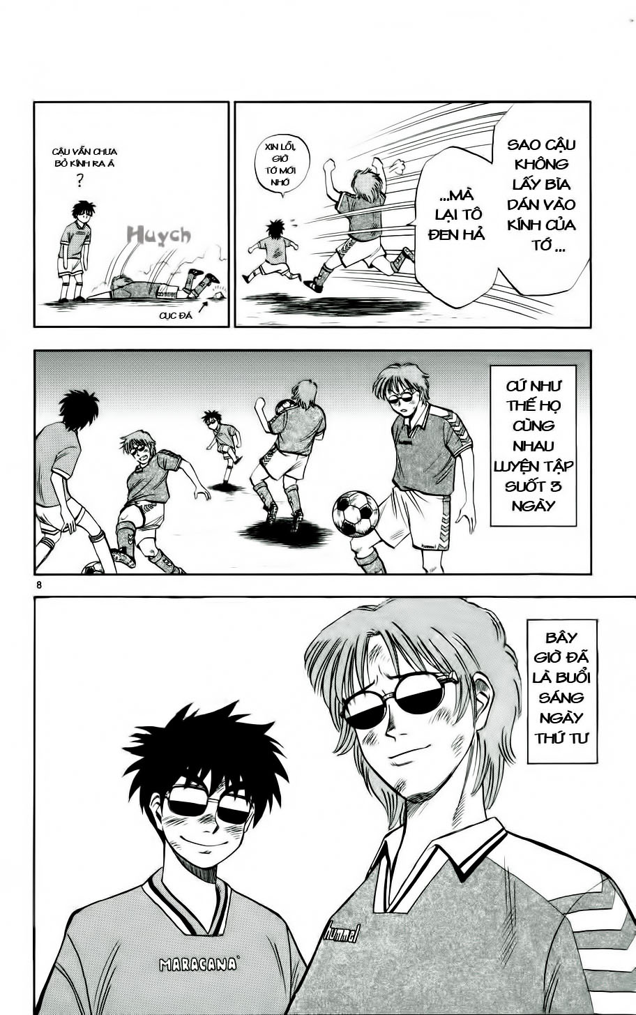 Fantasista chap 11 trang 8