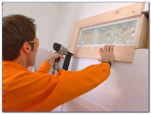 installing glass block window cost in bathroom shower