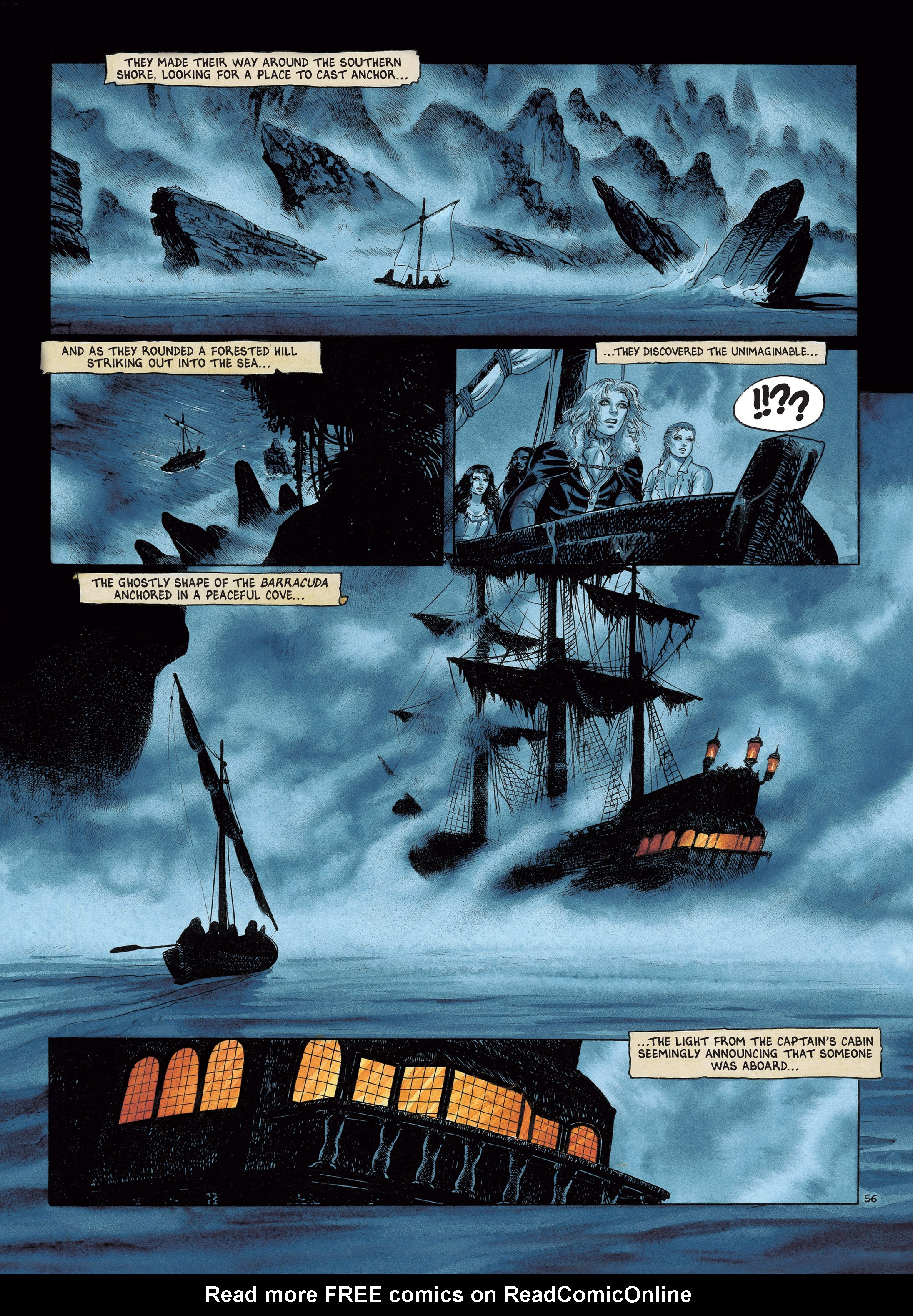 Read online Barracuda comic -  Issue #4 - 59