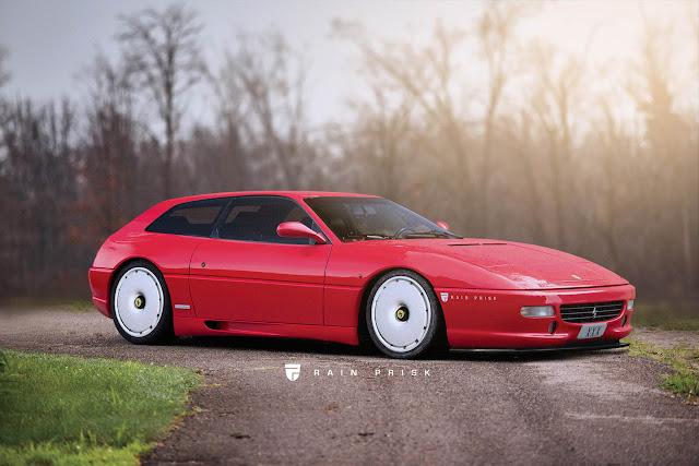 Ferrari 456 FF Rendering  - #Ferrari #supercar #tuning
