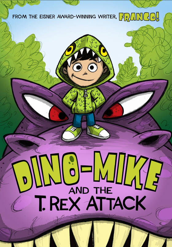 A Boy\u0027s Books Dino-Mike and the T Rex Attack by Franco - capstone publishing