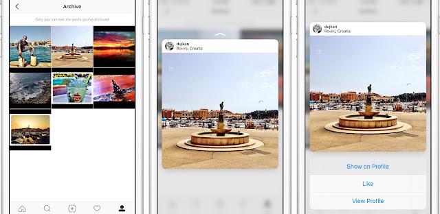 Cara Mengarsipkan Postingan di Instagram  6
