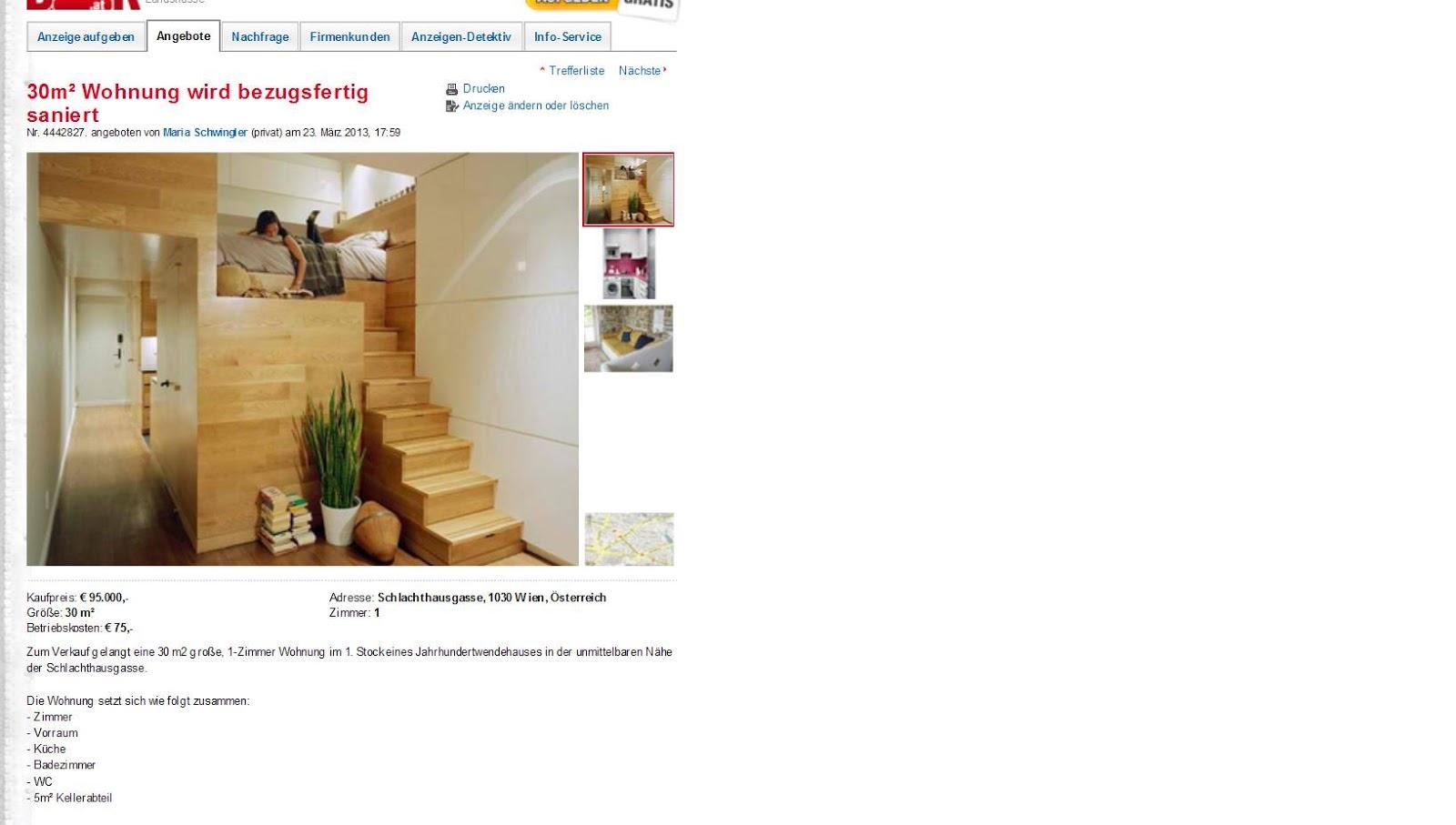 30m² Wohnung Wird Bezugsfertig Saniert Schlachthausgasse 1030 Wien