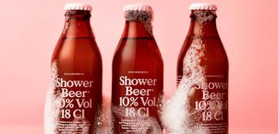 Una cerveza creada para consumir debajo de la ducha