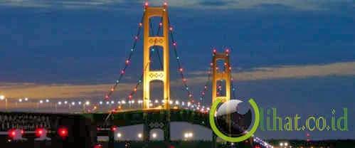 jembatan mackinack - michigan