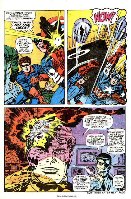 Captain America v1 #109 marvel comic book page art by Jack Kirby