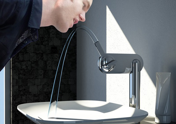 Kitchen Water Faucet Black Cabinets For Sale 15 Unique Bathroom Faucets And Beautiful ...