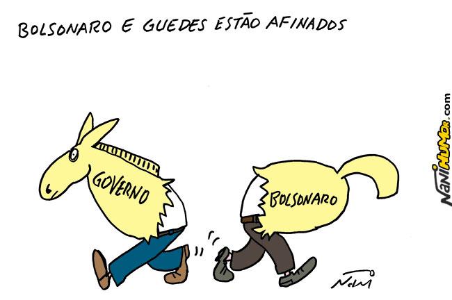 TRIBUNA DA INTERNET | Piada do Ano! Bolsonaro exige de Guedes um ...