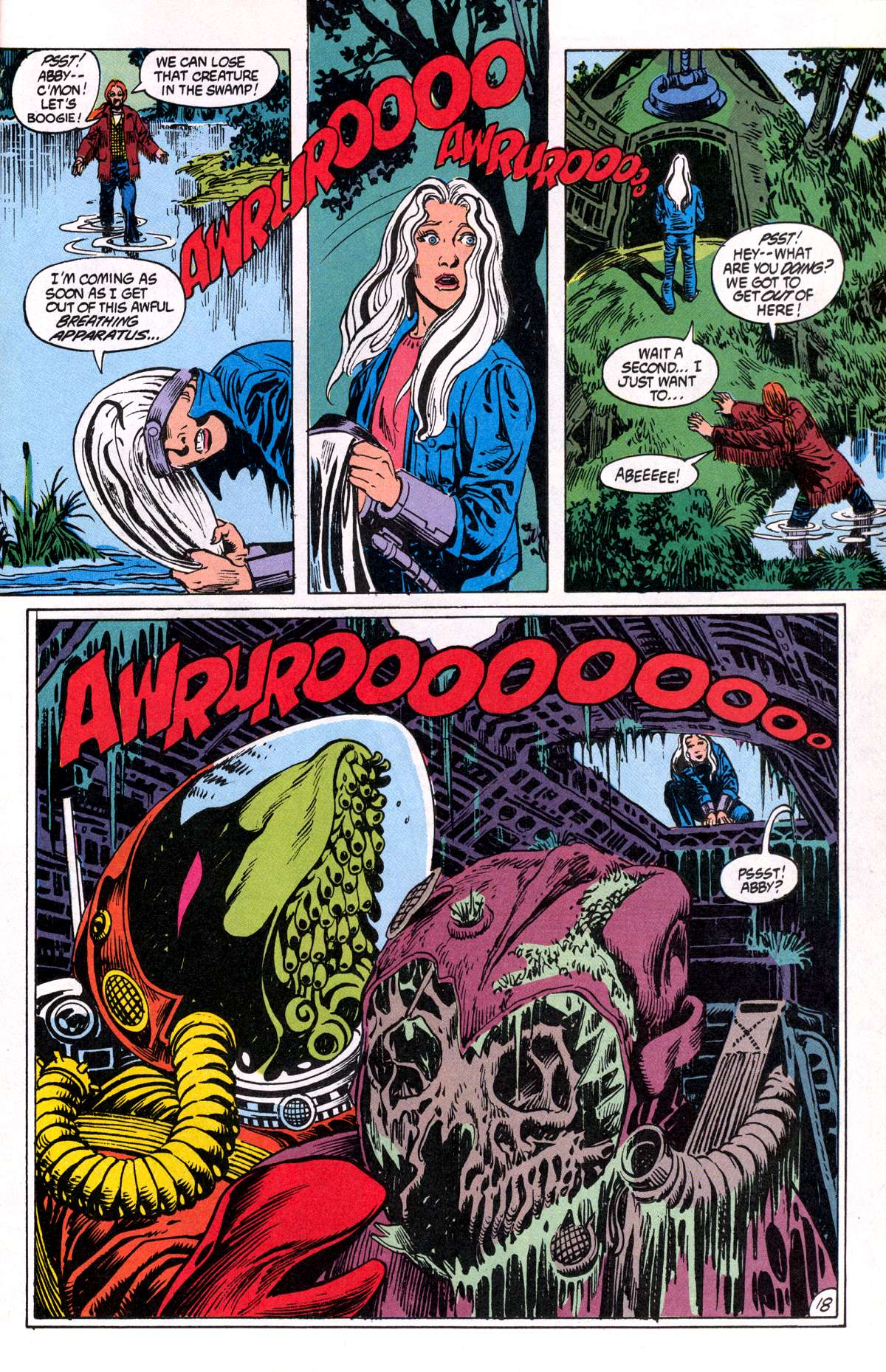 Swamp Thing (1982) Issue #81 #89 - English 19