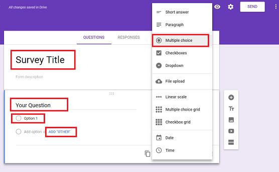 كيفية إنشاء استطلاع رأي في بلوجر | Online Survey Form in Blogger