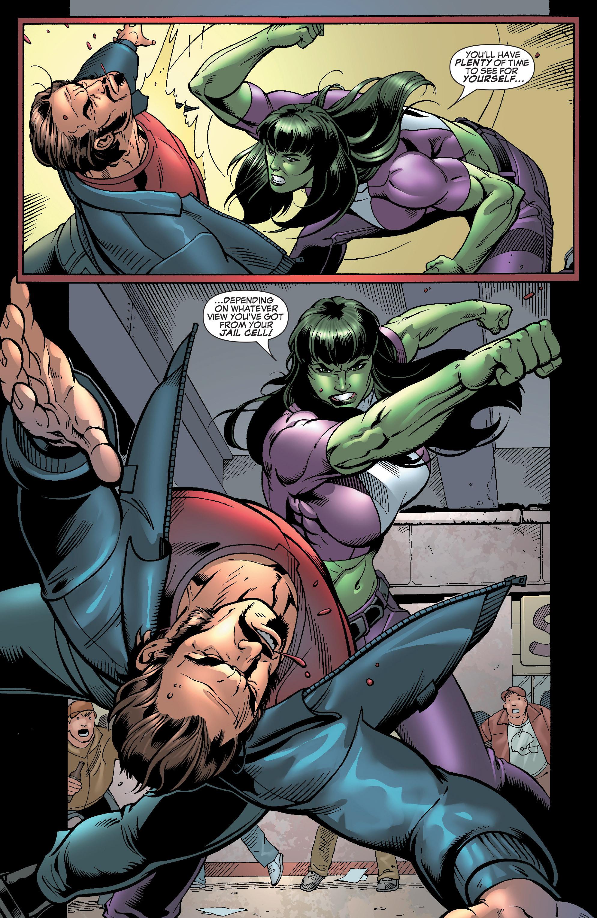 Read online She-Hulk (2005) comic -  Issue #28 - 20