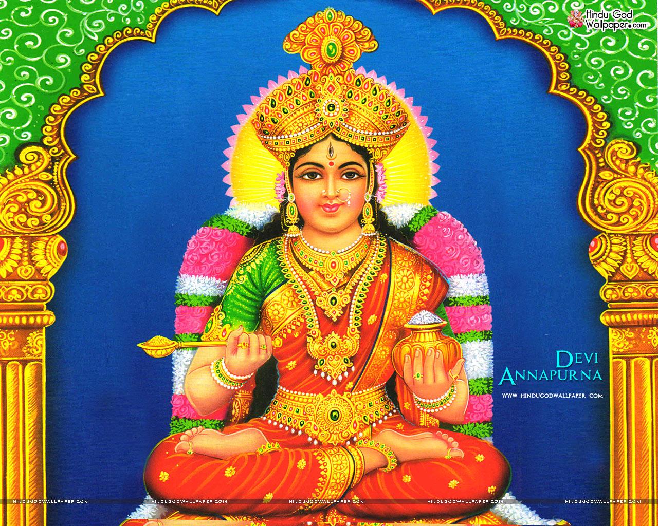 INDIA: Annapūrṇā – The kitchen goddess