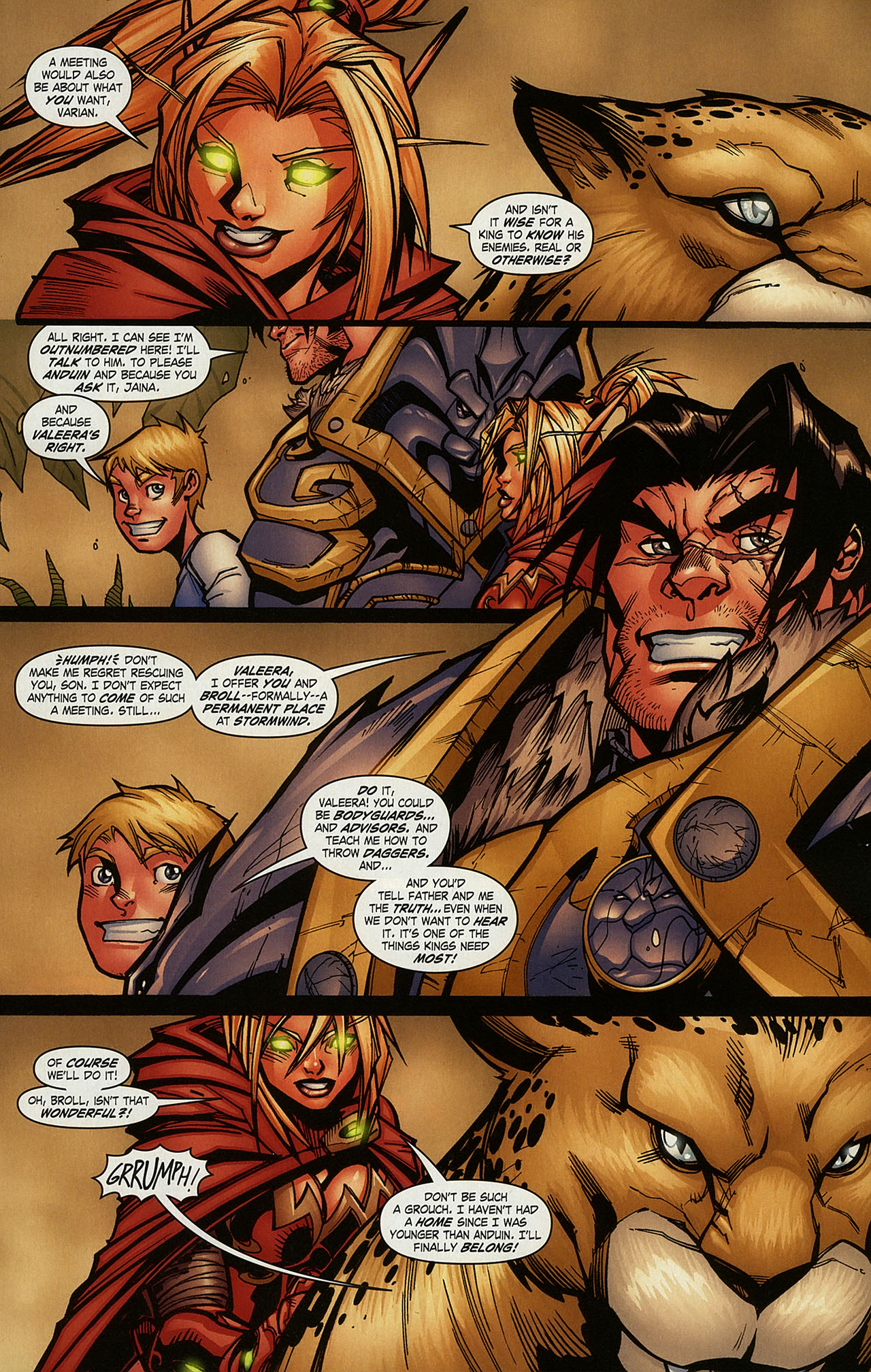 Read online World of Warcraft comic -  Issue #15 - 10