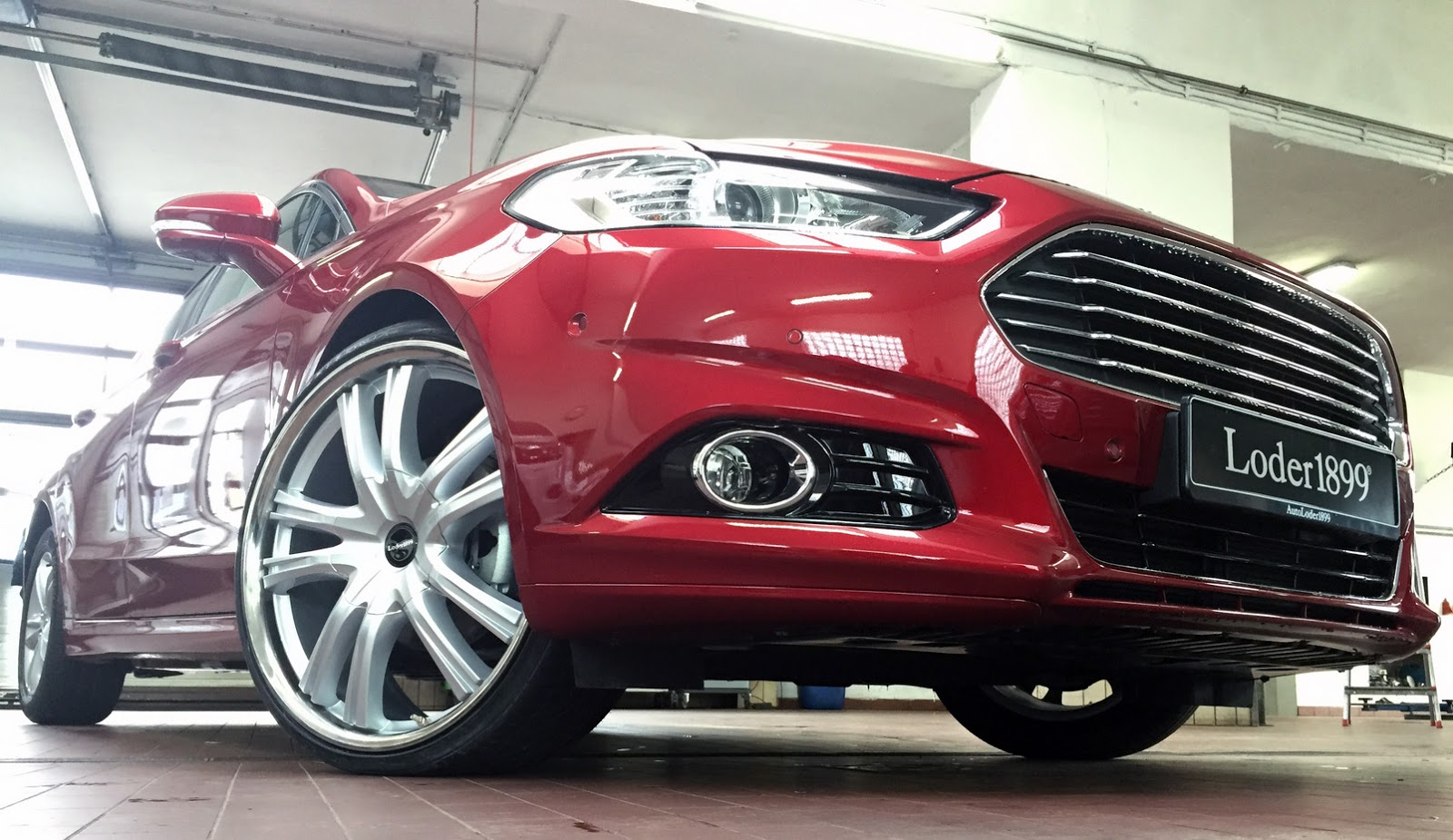 Ford Escape Ecoboost >> Too Much? Loder1899 Gives New Ford Mondeo 22-Inch Wheels | Carscoops