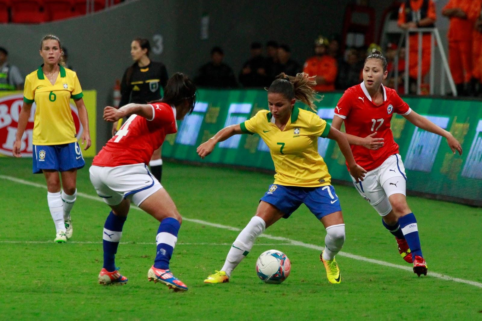 Brasil y Chile en Torneio Internacional de Brasília 2013, 12 de diciembre
