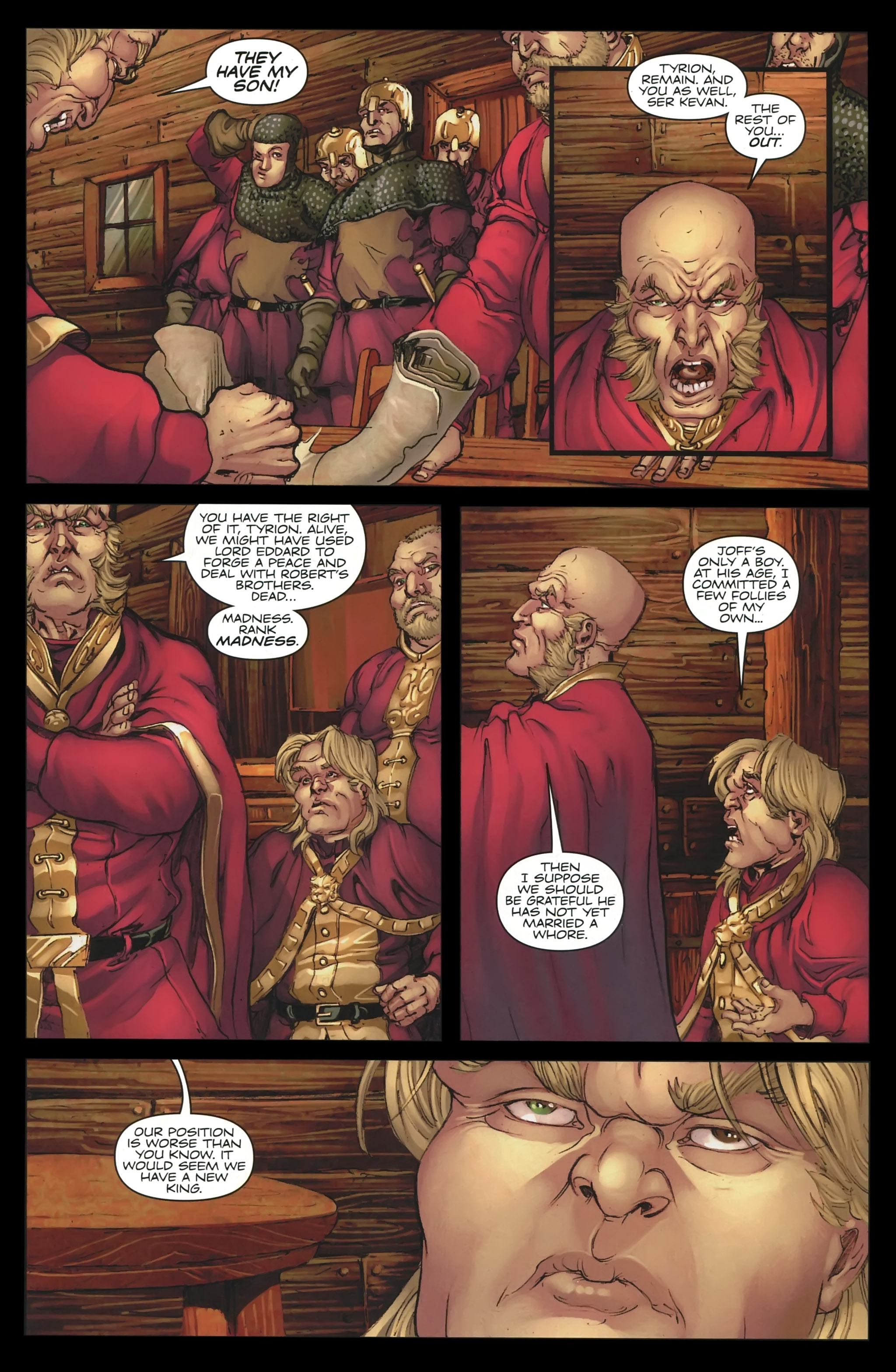 Read online A Game Of Thrones comic -  Issue #23 - 17
