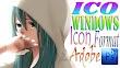 ICO Windows Icon Format for Adobe Photoshop