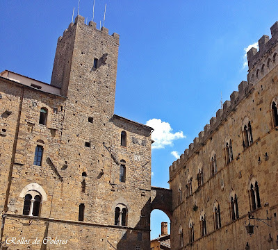 Piazza Priori Volterra