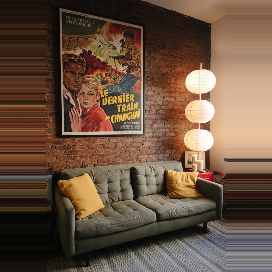Los carteles de cine como elemento decorativo
