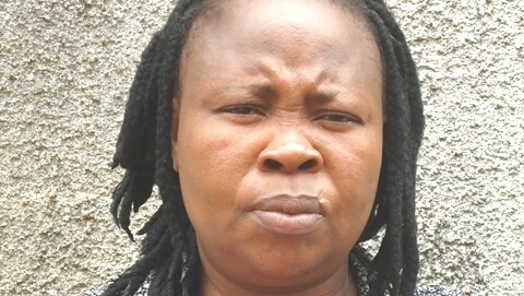 See the Face of a Lady Arrested in Lagos Airport for Smuggling Indian Hemp to China (Photos)