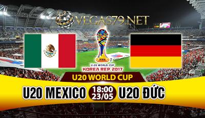 Nhận định, soi kèo nhà cái U20 Mexico vs U20 Đức