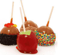 Halloween Maçãs do Amor (Candy Apples)