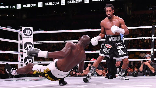 Andrade Vs Kautondokwa  card  Results