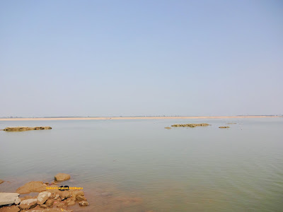 Godavari River at Kaleshwaram Temple