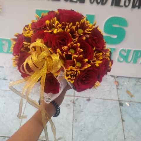 bunga tangan pengantin surabaya, jual hand bouquet wedding surabaya, hand bouquet pengantin surabaya